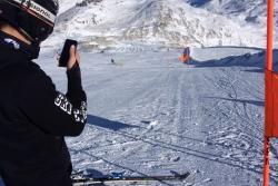 Entrainement géant Alpe d'Huez et Tignes Master et U18